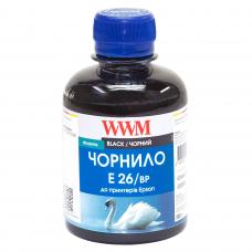 Использование чернил E26/BP в монохромных фабриках печати Epson M