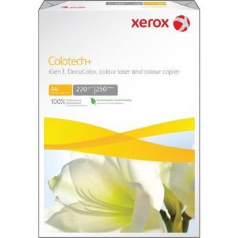 Бумага офисная Xerox COLOTECH+ 220г/м кв, A4, 250л (003R97971)