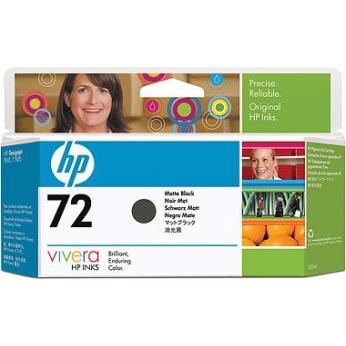 Картридж HP для DesignJet T610/T1100/T1120 HP 72 Matte Black (C9403A)