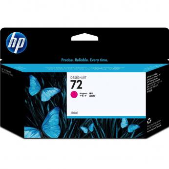 Картридж HP для DesignJet T610/T1100/T1120 HP 72 Magenta (C9372A)