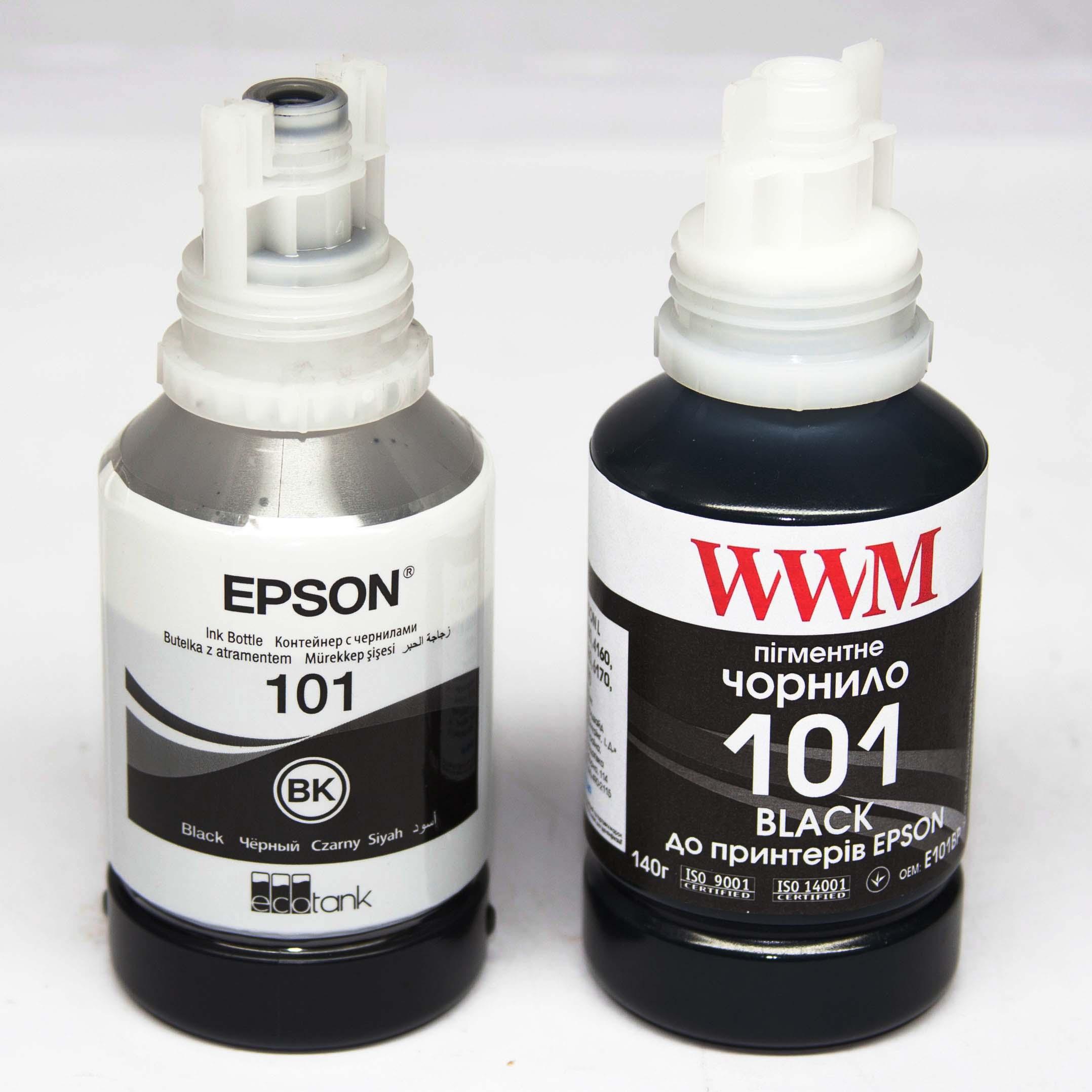 Epson 101 vs WWM 101
