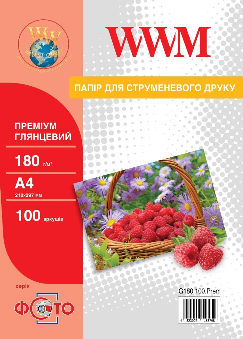 WWM глянцевая премиум 180